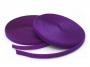 Suchý zip 20mm komplet fialová