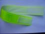 Reflexní páska na suchý zip 50mm žlutá