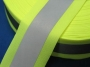 Reflexní páska 50mm kombinovaná žlutá