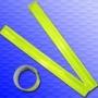 Reflexní páska 30mm flexi samonavíjecí žlutá (balení 5000ks+)